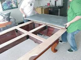 Billiard table moves in Indianapolis Indiana